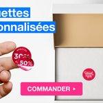 Image for the Tweet beginning: ☑️ ETIQUETTES ☑️  Adaptées à toutes
