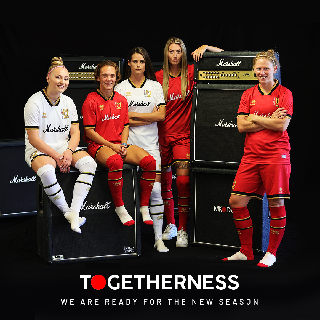 The season is coming 🔴⚫️⚪️ #Togetherness #MKDons https://t.co/7CHhyRNmJW