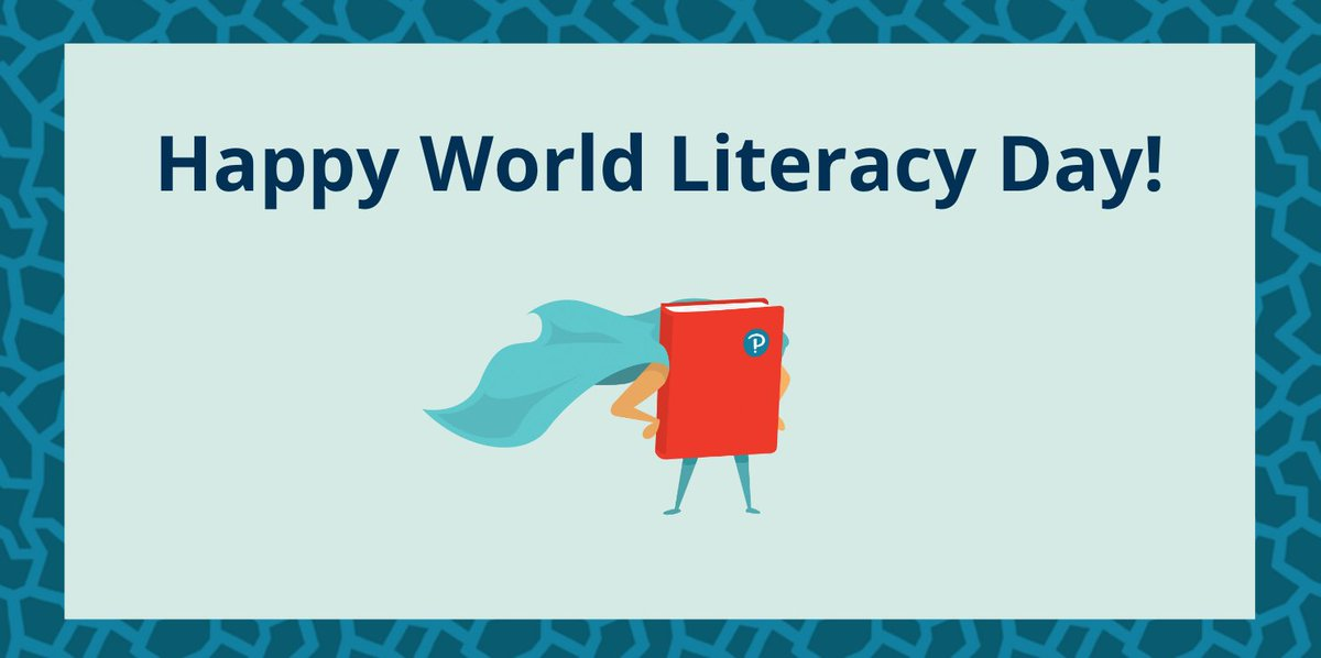 Happy International Literacy Day from everyone at Pearson English.   To celebrate, we wanted to share with you some top tips for improving #literacy in the #primary classroom from author and teaching expert - Katharine Scott.   https://t.co/fxkqriokaR  #InternationalLiteracyDay https://t.co/bbz7BJvqfY
