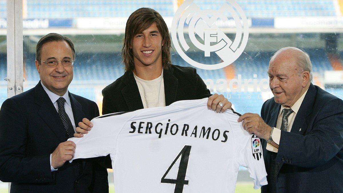 🔙🤩 ¡@SergioRamos, ¡15 años en el @RealMadrid! 📅 8 de septiembre de 2005 #HalaMadrid https://t.co/Pr8PCSLEWe