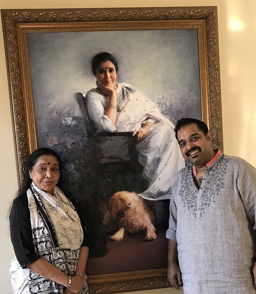 Wishing the greatest of all time greats , the legend , our inspiration a happy birthday !  Loads of love @ashabhosle ! Have a great day and a great year ahead !! https://t.co/vt4rOqIAdJ