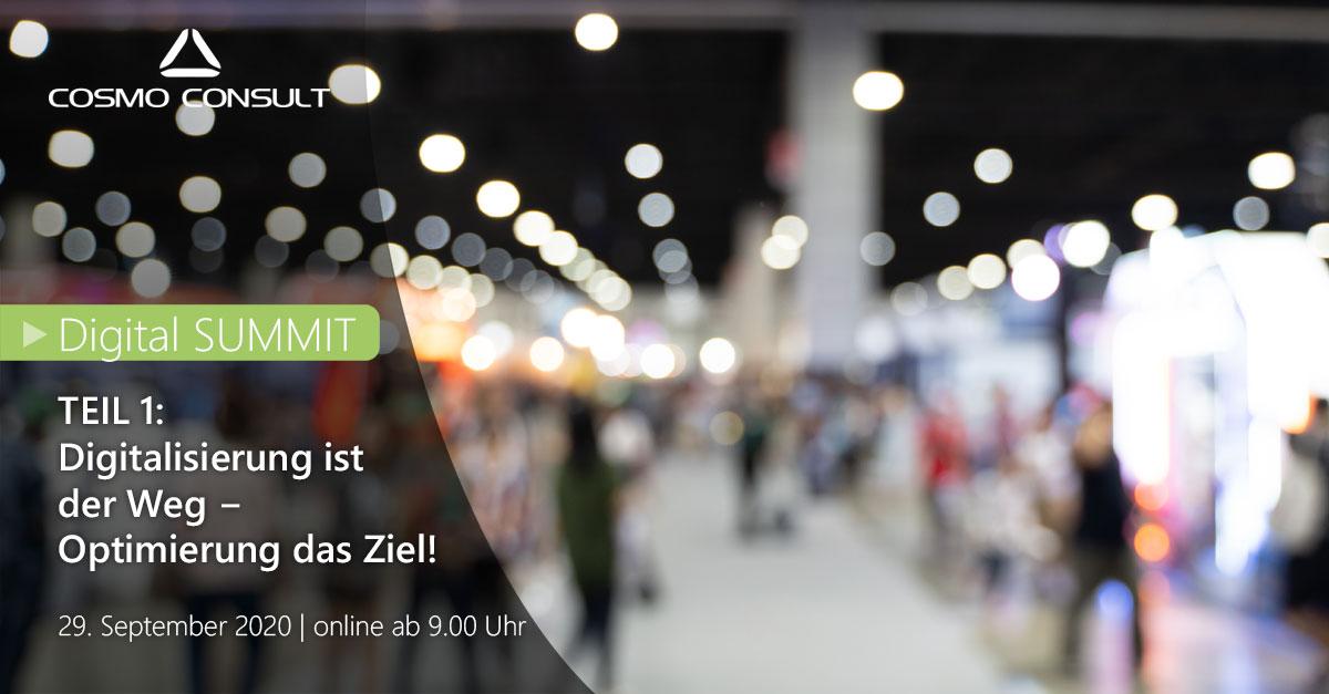 Es ist Zeit für Digitalisierung. Der Digital SUMMIT 2020  führt durch spannende Live-Vorträge mit aktuellen Trends, virtuelle Messestände und Praxisberichte anderer Unternehmen.  Hier ein Video-Teaser zum Event>> https://t.co/nQVZeEjOY2  Jetzt anmelden >> https://t.co/XId5F4uoQf https://t.co/nOWuSs0qhL