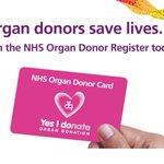 Image for the Tweet beginning: This week is Organ Donation