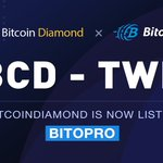 Image for the Tweet beginning: @BitoEX_Official exchange has listed Bitcoin