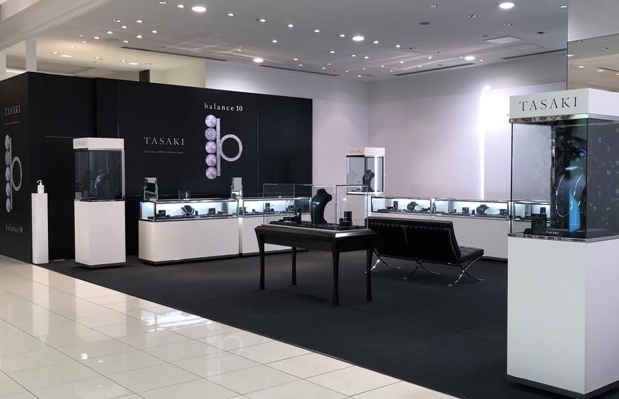 "【<TASAKI>「balance 10」POP UP STORE】  TASAKIのアイコンジュエリー""balance""。シリーズ誕生10周年を記念した、特別プロモーション「balance 10」を1階特設会場で開催中です。  ※10/26(月)まで  #TASAKI #TASAKIbalance #balance10 #TASAKIpearl #pearl #TASAKIdiamond #diamond #popupstore https://t.co/wVRgnixzvN"