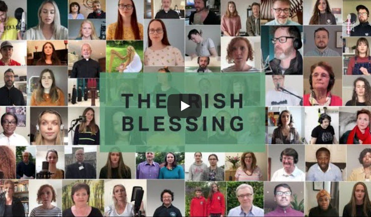 Read the first Reflections on #TheIrishBlessing blog here: https://t.co/t9XAeyug4t  We are excited to share as this important initiative passes the 1 million views milestone on YouTube.   @BlessingIrish https://t.co/4bkt0o1tjI