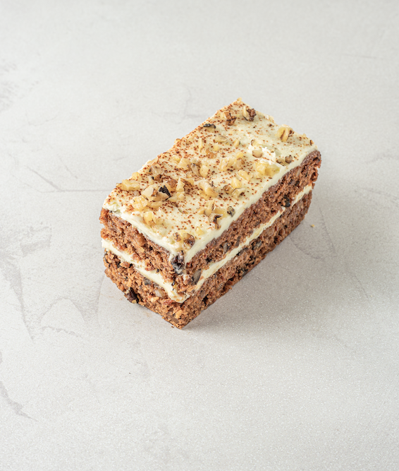 It's time to welcome back one of our favourite cake slices… Carrot Cake! 🍰   Lightly spiced carrot cake, sandwiched with cream cheese frosting and finished with frosting, walnuts & cinnamon.   Oh and did we mention all of our cake slices are now 20% bigger! 😁 https://t.co/OAAFgxPA8N