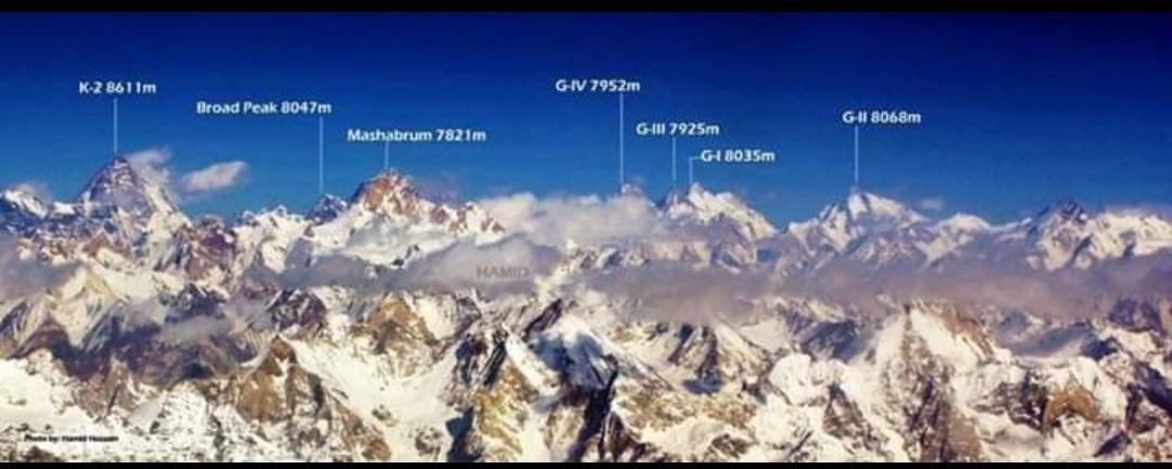 "It may also come from masha (queen or lady), giving ""queen of peaks."" Other meanings have also been suggested.Masherbrum is the highest peak of the Masherbrum Mountains, a subrange of the Karakoram range.  #GilgitBaltistan #Karakoram #Mountains #HighAsia #Mashabrum ⛰️ https://t.co/VbQE3PNtvd"