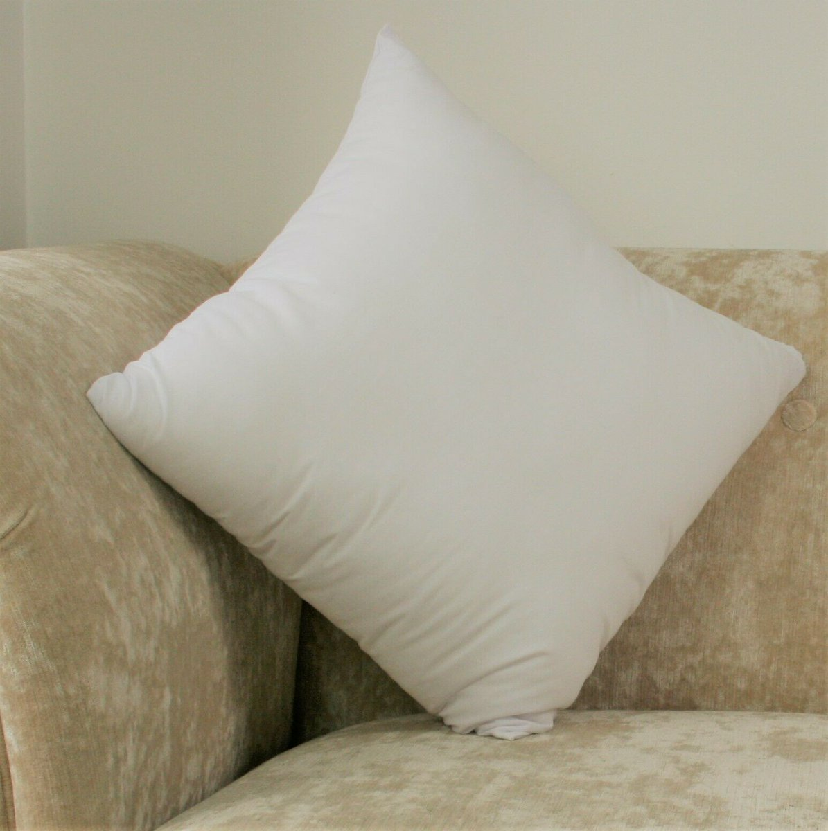 """Hollowfiber Cushion Pads 23/"""" x 23/"""" Inches Inserts Inner Scatter Sofa Throw Couch"""