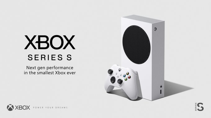 Xbox Series S | Next-gen performance in the 🔎 smallest 🔍 Xbox ever. £249.99 (ERP).   Hopefully we can have a Pre-order and release date for you soon! https://t.co/VbfOAK9Xya