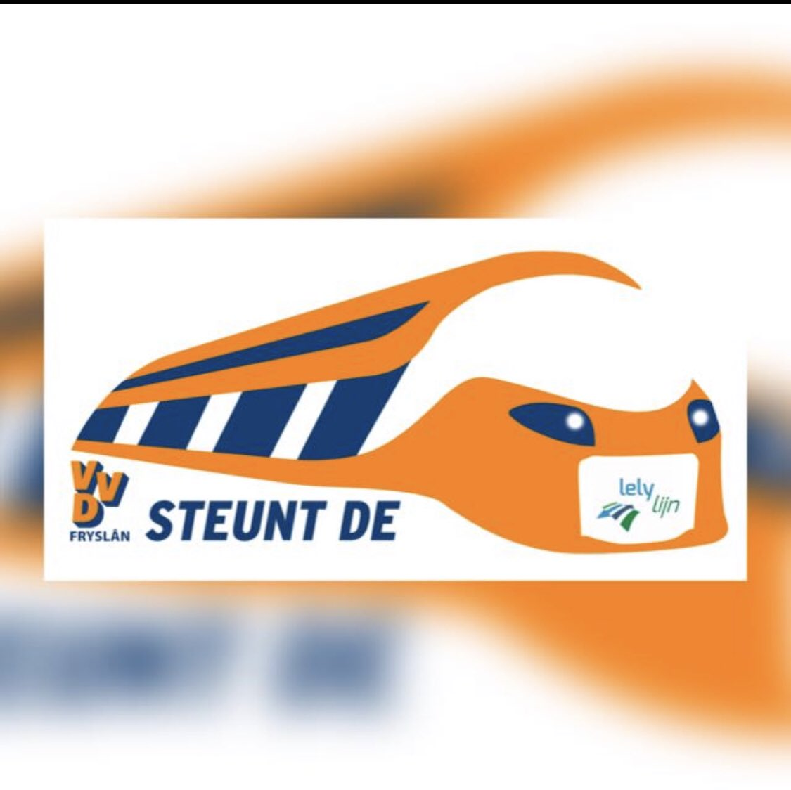 @VVDFryslan steunt de @lelylijn! All aboard! https://t.co/oqbOA5sr6j