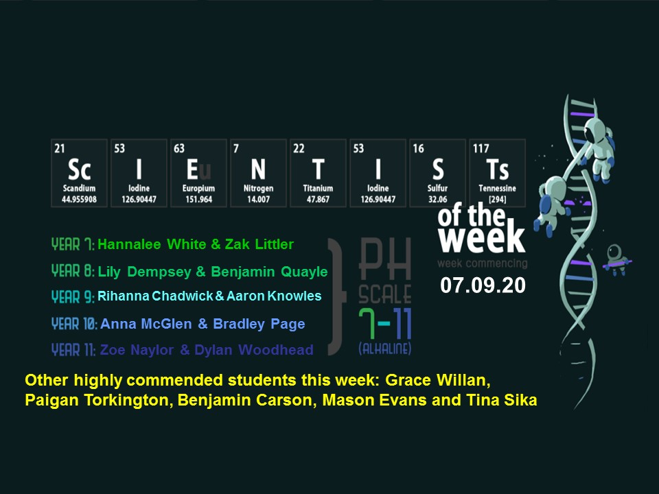 Has it been 1 week back already?! Our students have made such a good start to the year. Lets kick off this year's scientist of the week straight away! Well done to all our super scientists! Come back for round 2 next week... @byrchall #scientistoftheweek #brightfuturesatbyrchall https://t.co/GVFFPGR6Kx