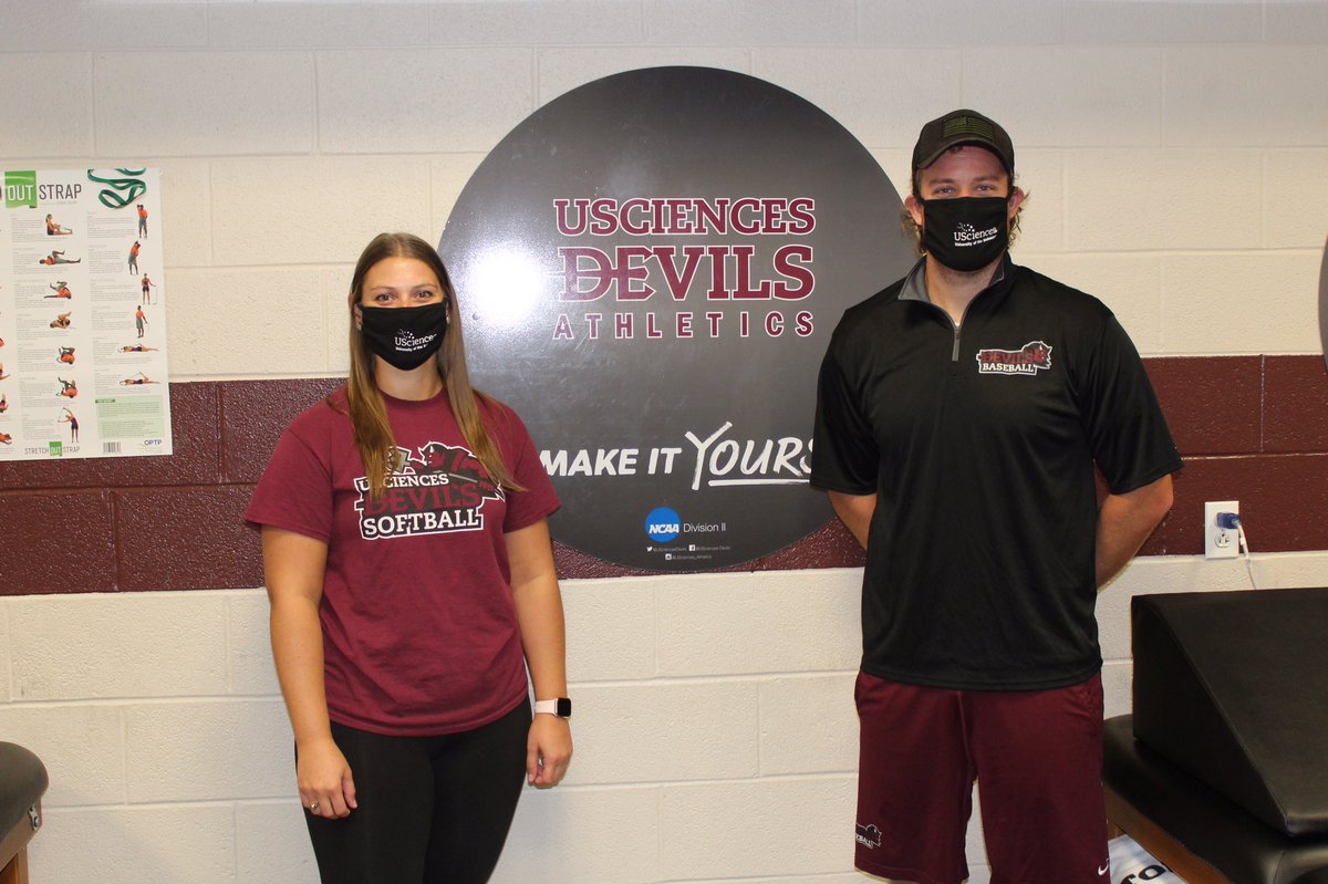 As we begin our second week on campus, we remind our student-athletes that Christi and Brian are ready to serve your AT needs. Remember to please sign up in advance #USciencesAT #DevilsPride https://t.co/iMPY8mQhgs