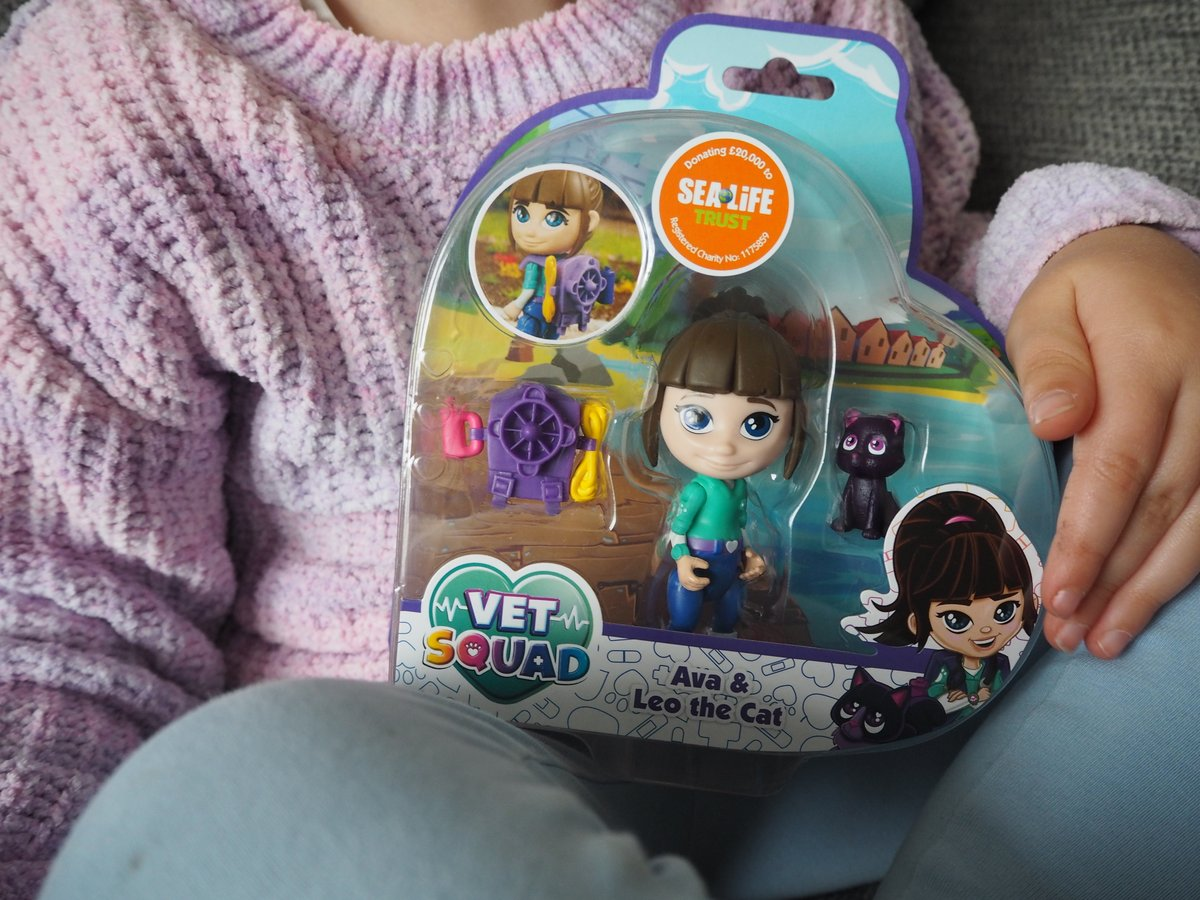 It's safe to say that Ava loves that there's a character that shares the same name! @BlogOnUK @VividToyGroup #VetSquad #ad https://t.co/VOkJSHVzCJ
