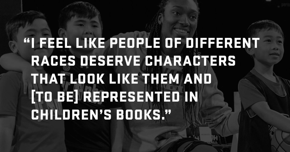 Growing up, Kayla Alexander didn't relate to book characters because they never looked like her.  That's what led her to write a book with her sister 👭🏾  On #InternationalLiteracyDay, we take a look the story behind The Magic of Basketball ➡️ https://t.co/UyzbOgW2rI https://t.co/JuG9rHCsTR