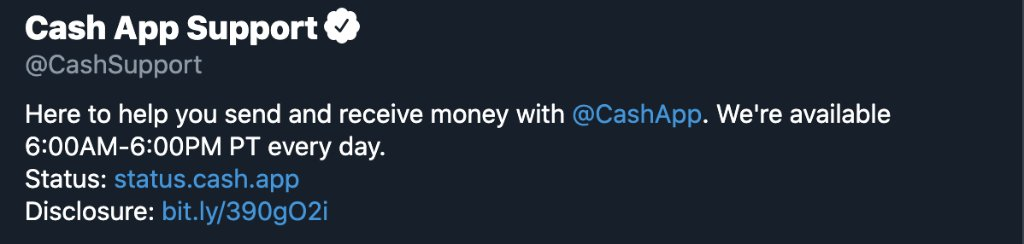 Media Tweets By Cash App Support Cashsupport Twitter
