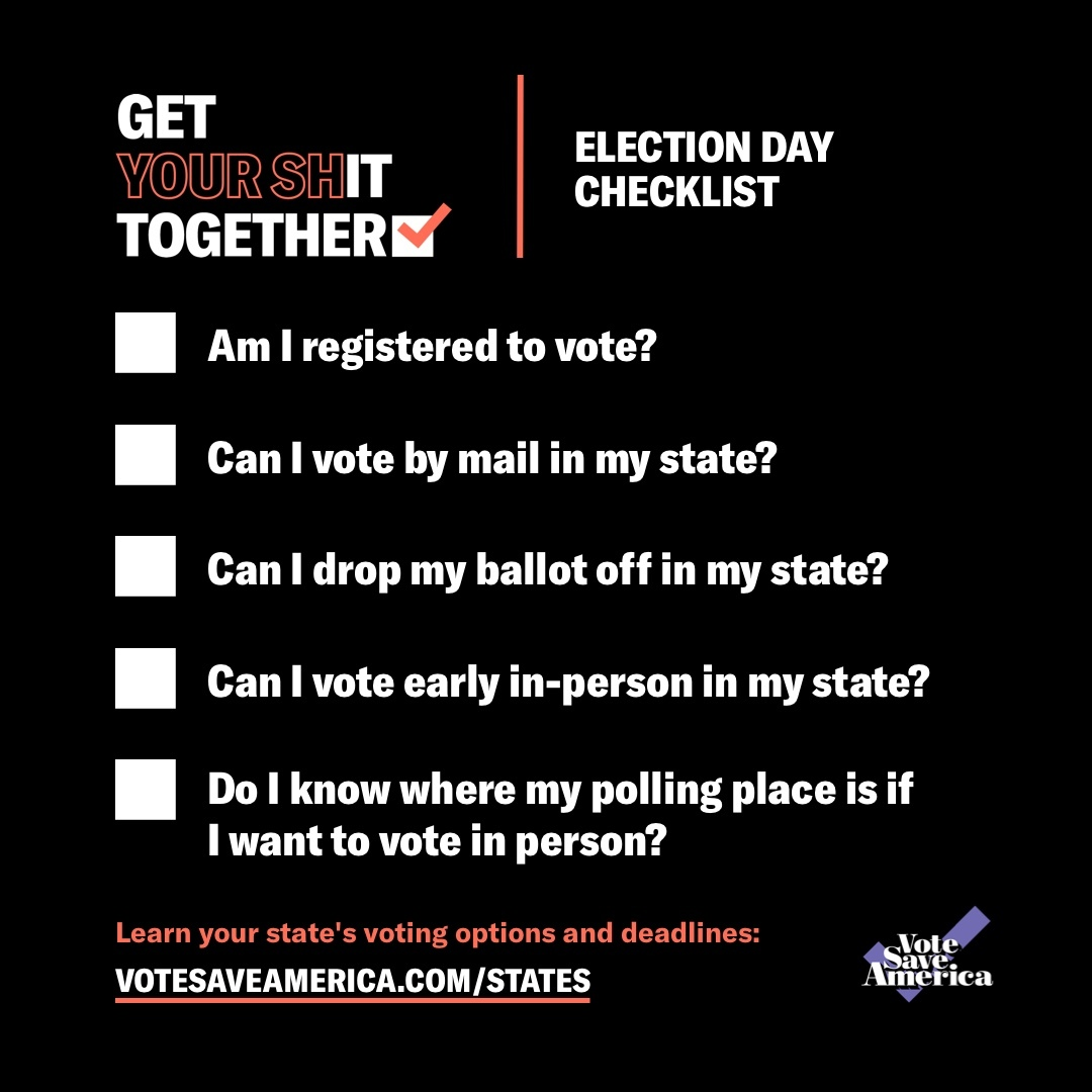 Each state has different voting options and deadlines ahead of Election Day. Learn about your voting options based on where you live, so you can vote early and responsibly: https://t.co/eNeFJakIyW https://t.co/pDJ7CQeu6K