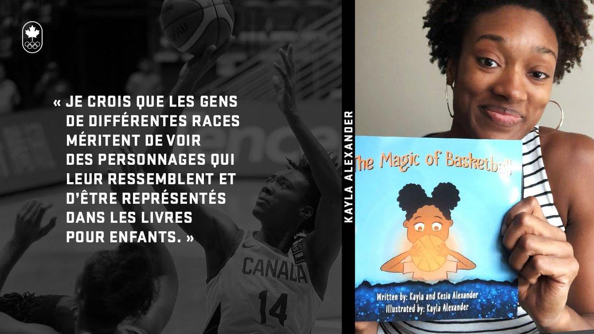 C'est la Journée nationale de l'alphabétisation! 📖✏️  Pour l'occasion, on a jasé avec la joueuse de basketball Kayla Alexander, qui est aussi auteure d'un livre pour enfants! 🙌💕 Par ici 👉 https://t.co/uHQIaWLKnr  #ÉquipeCanada #WorldLiteracyDay https://t.co/II1TyYBg3X