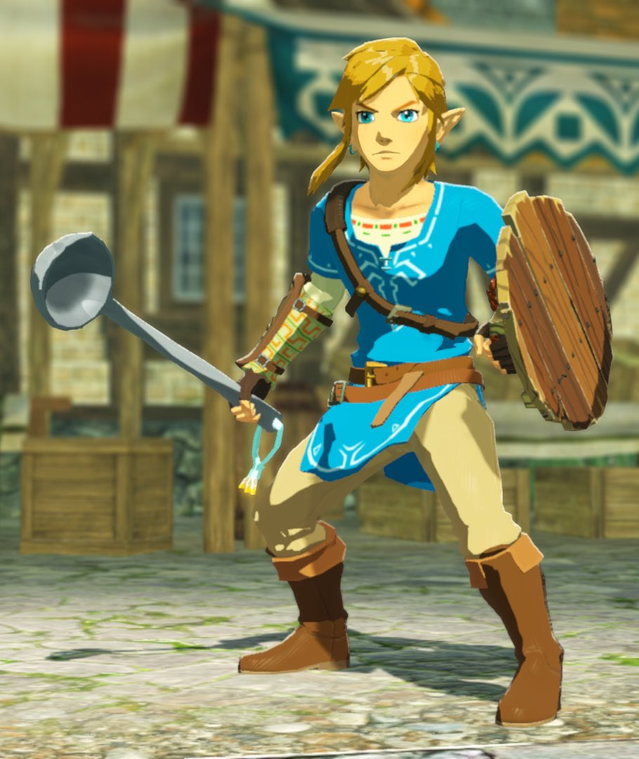 Zelda Gif World On Twitter Link Is Ready To Serve Up Justice In Hyrule Warriors Age Of Calamity