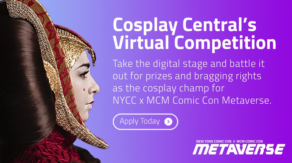 Today is the LAST DAY to sign up for our October virtual competition! Sign up today to be a part of NYCC and MCM's cosplay competition!  See rules + apply here: https://t.co/jKO73QH5ut https://t.co/c5NPewmx3o