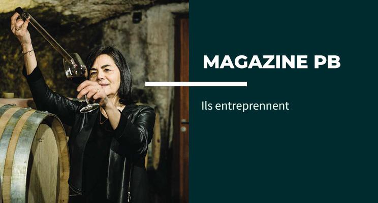 « La terre ne m'appartient pas, c'est moi qui appartiens à la terre. » Christine Vernay, vigneronne, nous parle de son parcours, de ses #vignes, de son engagement dans le #bio. Rencontre dans notre magazine PB. https://t.co/HW5q7qrFdt https://t.co/gSnXiYxcXJ