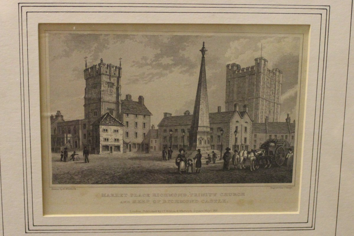 An early image of Richmond Market Place #heritage #museum #museumsunlocked #photography https://t.co/AGLWmGVQG9