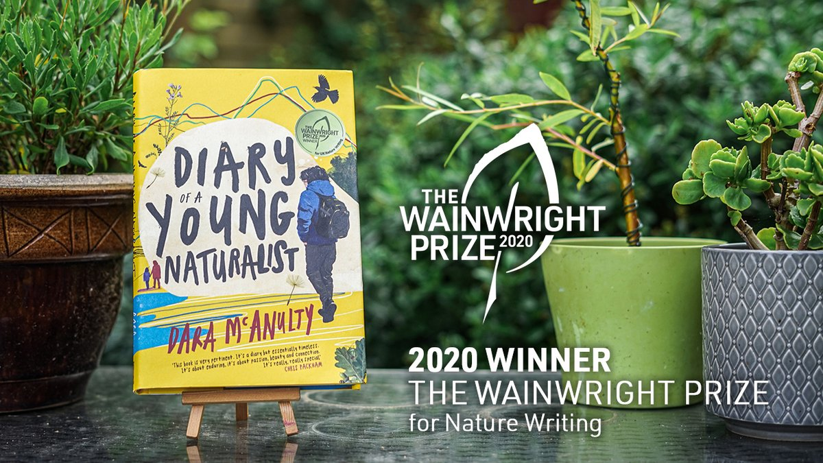 The 2020 winner of the Wainwright Prize for Nature Writing is Dara McAnulty (@naturalistdara) for Diary of a Young Naturalist, published by @LittleToller! Congratulations Dara! #WainwrightPrize20 https://t.co/QeJeNwZoFO