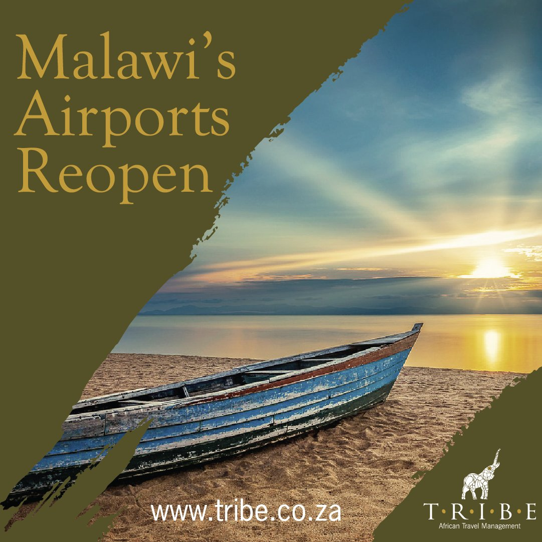 Limited number of international flights can now operate to and from #Lilongwe airport. There remain certain restrictions & regulations surrounding entry to #Malawi  https://t.co/SORCEgiiAu #TribeCommunications #TravelArrangements #SeeAfrica #SeeTheWorld #Travel #TribeTravelBug https://t.co/Go6bAAymWg