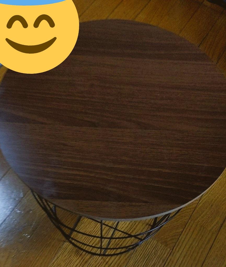 サイド テーブル ダイソー 500円!?格安なダイソーのサイドテーブル(ラウンド)を購入