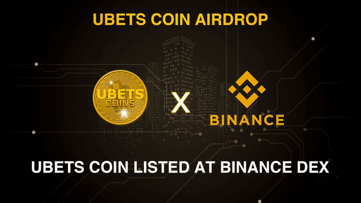 🚀 Airdrop: Ubets Coin 💰 Value: $ 210 👥 Referral: $ 105 💸 1 + 0.5 UBETS 🏦 Market: Binance Dex ⏰ 3 minutes 1. Talk to the telegram bot: t.me/Ubets_official… 2. Do the social media tasks #cryptocurrency #Crypto #bounty #Airdrops #Airdrop #bitcoin #ico #giveaway #IEO