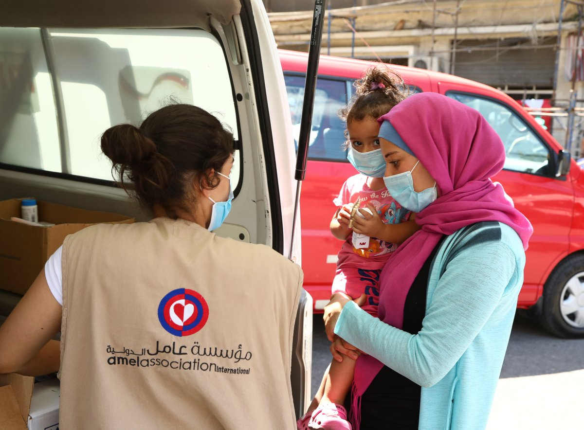 Some are wives Some are sisters Some are mothers Some are daughters  They've all been affected by the tragic explosion in #Beirut.  See how @UNFPA is working with @AmelNGO to run mobile medical units that provide them with life-saving services: https://t.co/1LdWDlMbh1 https://t.co/omzDowFZ5A