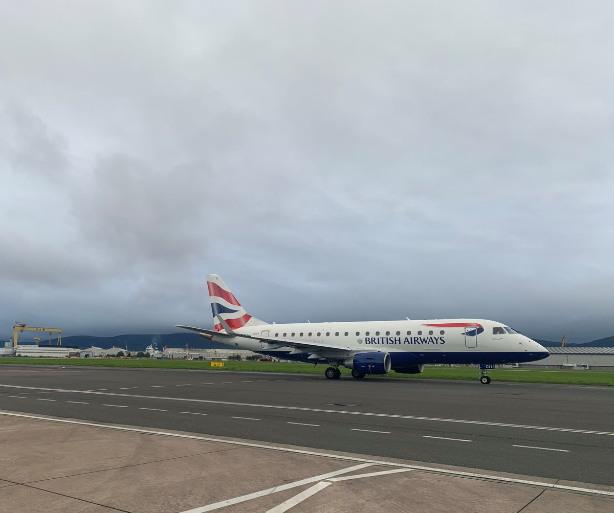 You can now fly to Belfast five times a week with our new service from London City airport which began yesterday. For more info about the schedule visit https://t.co/itej9d8ok0 https://t.co/PH4vfYavom