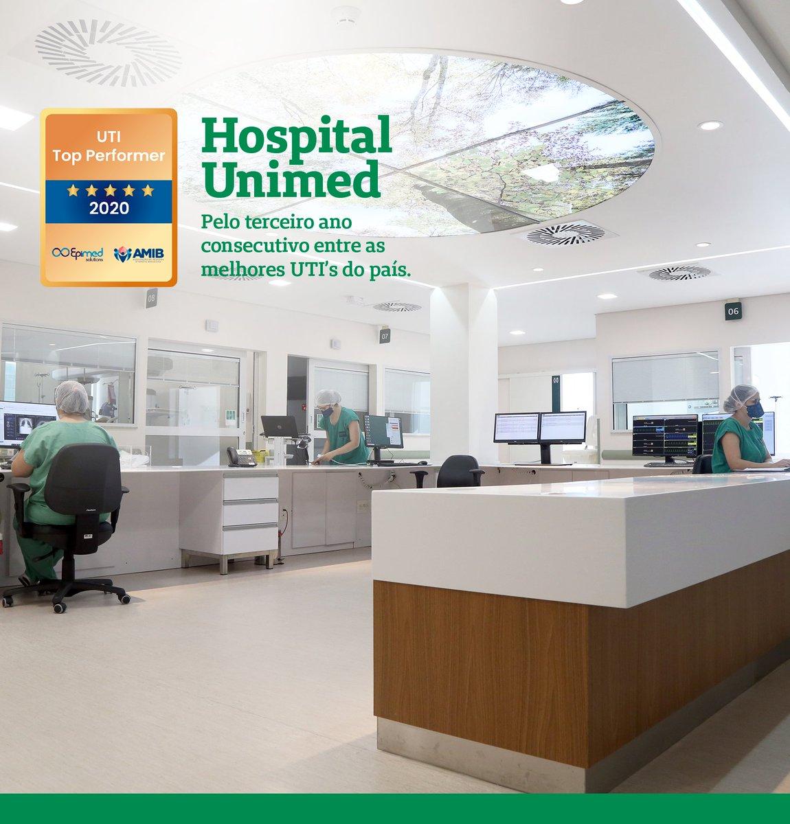 A UTI Geral da Unimed Sul Capixaba conquistou o certificado de Top Performer, da Epimed Solutions. A premiação é concedida às UTIs dos hospitais que obtiveram os resultados clínicos mais eficientes dos recursos no cuidado com os pacientes. https://t.co/iIRD8BLUum