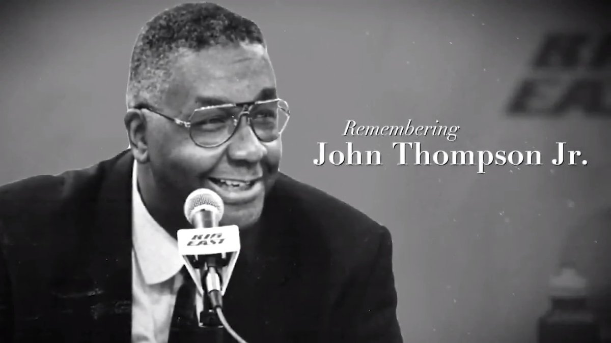 To Patrick Ewing, John Thompson was so much more than a coach. He was a second father figure who defined loyalty. @CoachEwing33 reflects with @John_Fanta on the @GeorgetownHoops legend.