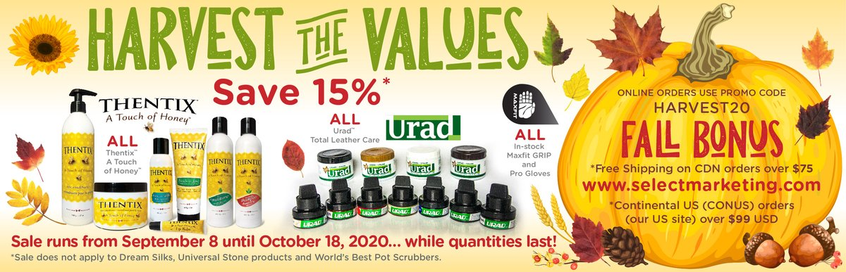 Harvest the Values Sale ...  Starts today! https://t.co/TSJ4Ex9oPi