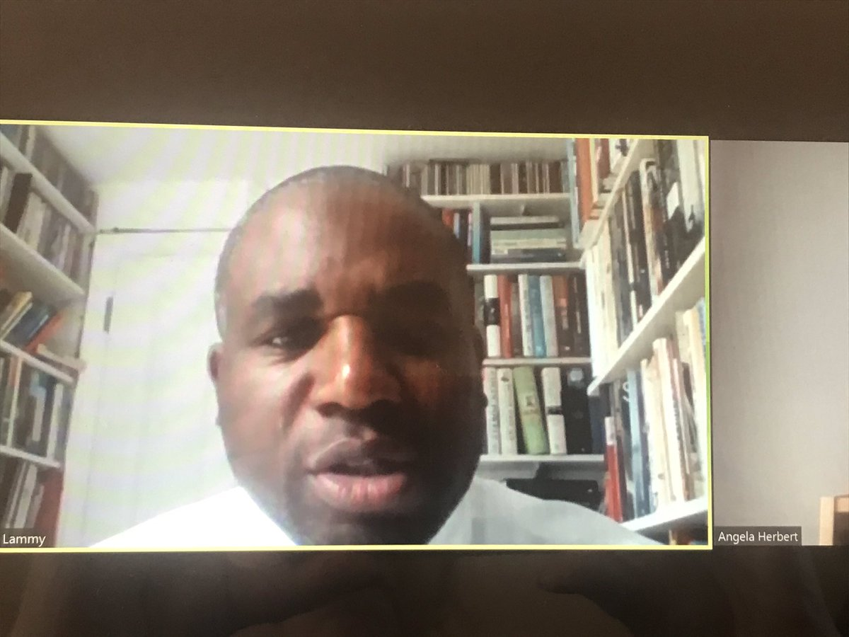 Rt Hon David Lammy MP speaking on his Review...3 Years On. Initially surprised and suspicious to be asked to do this by David Cameron #LammyReview https://t.co/OgYNkZWwWU