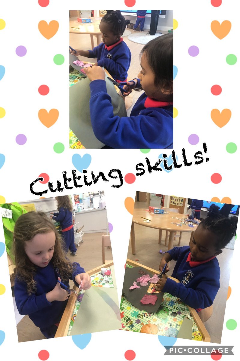 Just look at the concentration on these faces! The girls were engrossed in their own creations, fine tuning their scissor skills. https://t.co/CzlSE23HM3