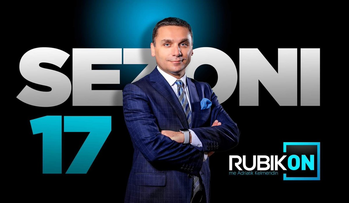 Tonight: The 17th season of Rubikon - the longest running and most influential political show on Kosovo television history! 🙏 https://t.co/0Vgmew67g0