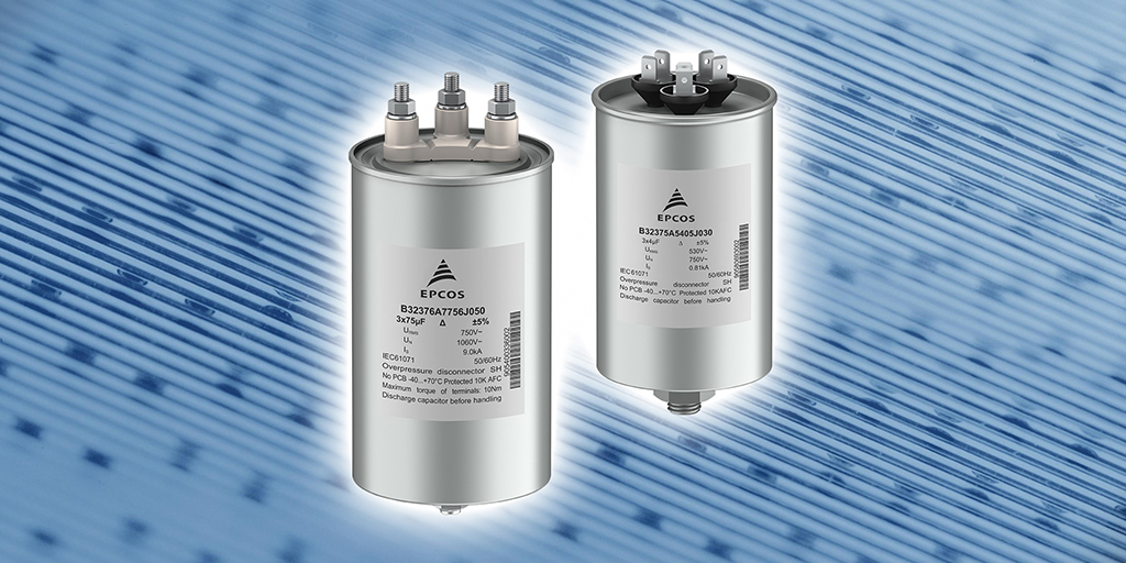 Build for high-performance #converters: our new rugged three phase AC #filtercapacitors are designed for the low to medium power range and come with an improved safety device, eliminating the need for soldering and guaranteeing a long service life. https://t.co/3EWz83k2r9 https://t.co/e6H3TPctxM