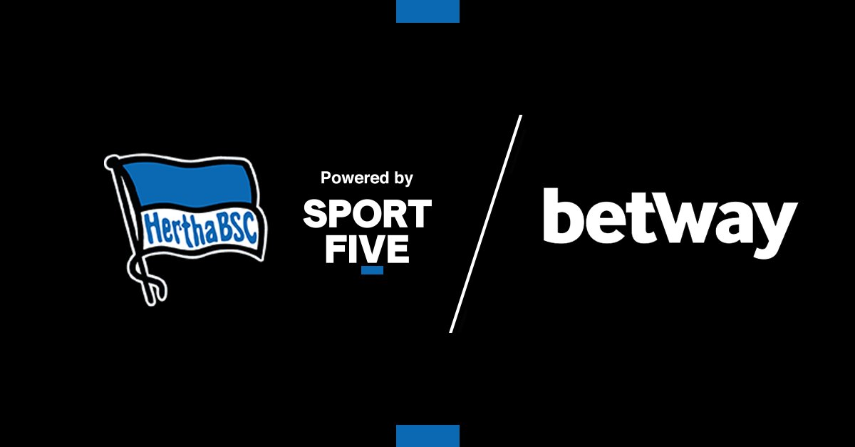 🇩🇪 SPORTFIVE pairs Hertha BSC and @betway in an exclusive partnership.  Over the next three years, the online betting provider will activate digitally and physically across the club's social channels, mobile app, and stadium.  ▶️ https://t.co/8z639RPP8L https://t.co/4fu77D1RAP
