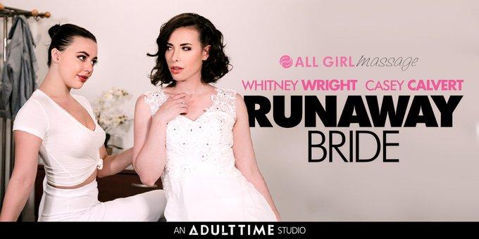 Masseuse @whitneywrightx helps ease some pre- wedding jitters when Runaway bride @caseycalvertxxx walks