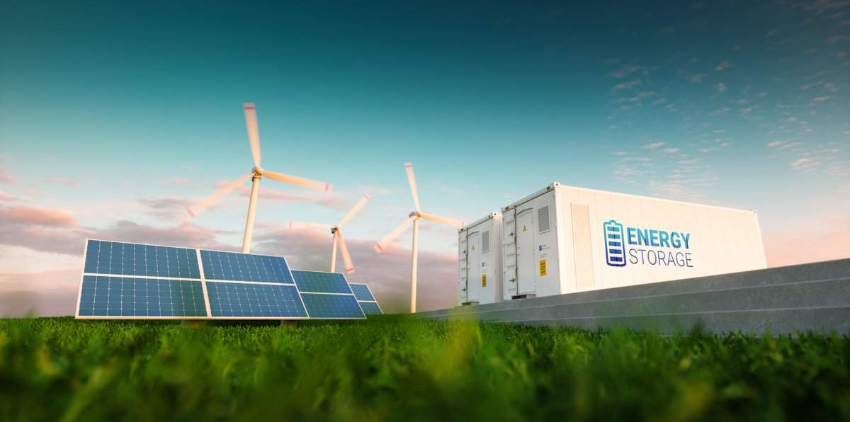 """""""Energy storage is critical for #NYS to achieve its mandated climate protection goals,"""" said Dr. Acker, Exec. Director of @NYBatteryEnergy. To learn how we are opening #NY #energy markets to #energystorage resources, read our news release: https://t.co/SPsxQjrSWz https://t.co/BHJINtWGlV"""