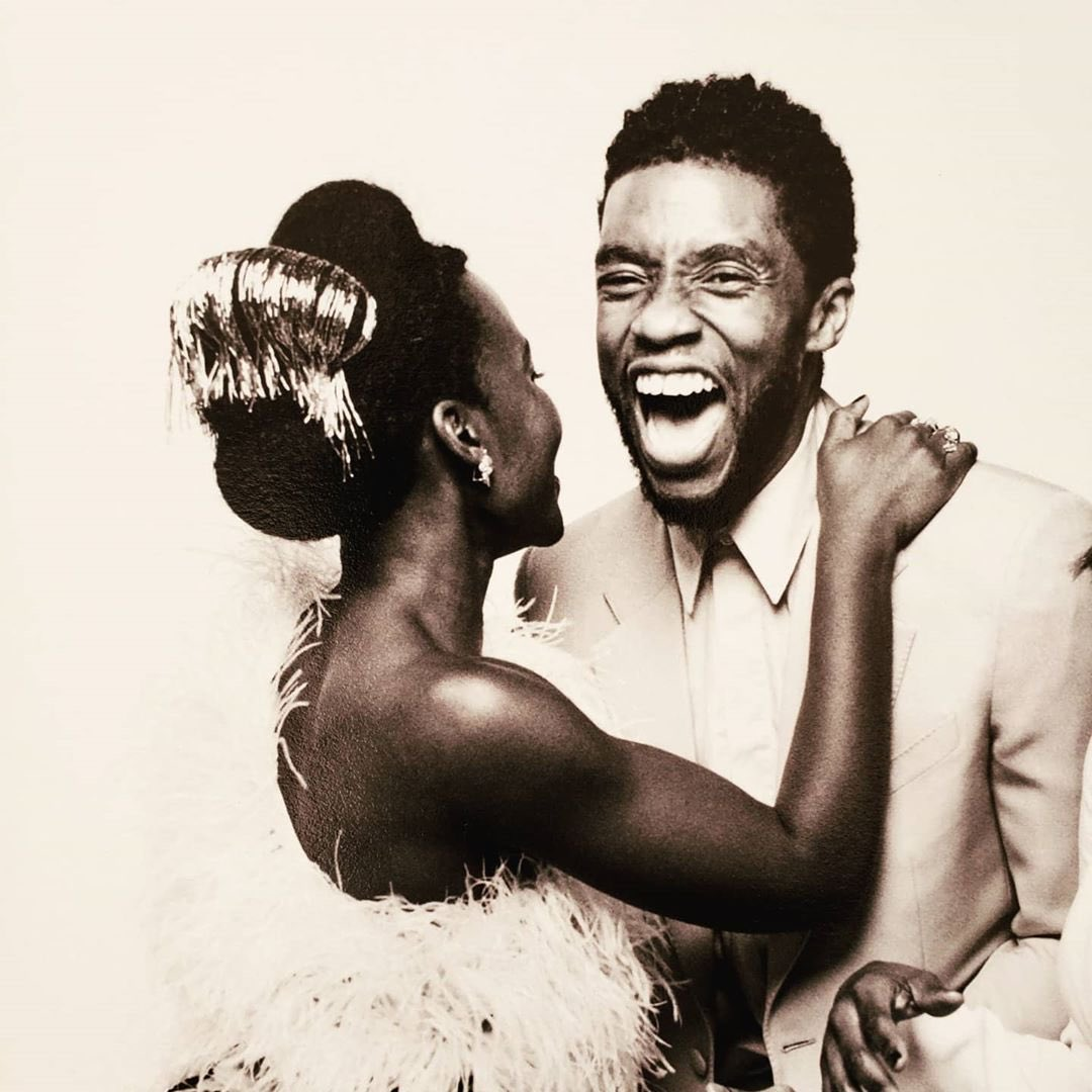 Lupita Nyong O On Twitter For The Beloved Chadwickboseman Takeyourtimebutdontwasteyourtime