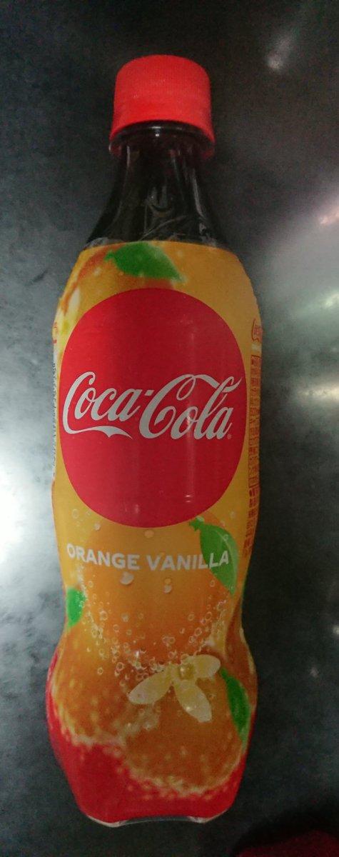 コーラ オレンジ バニラ