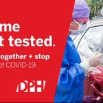 Image for the Tweet beginning: Free testing for COVID-19 is