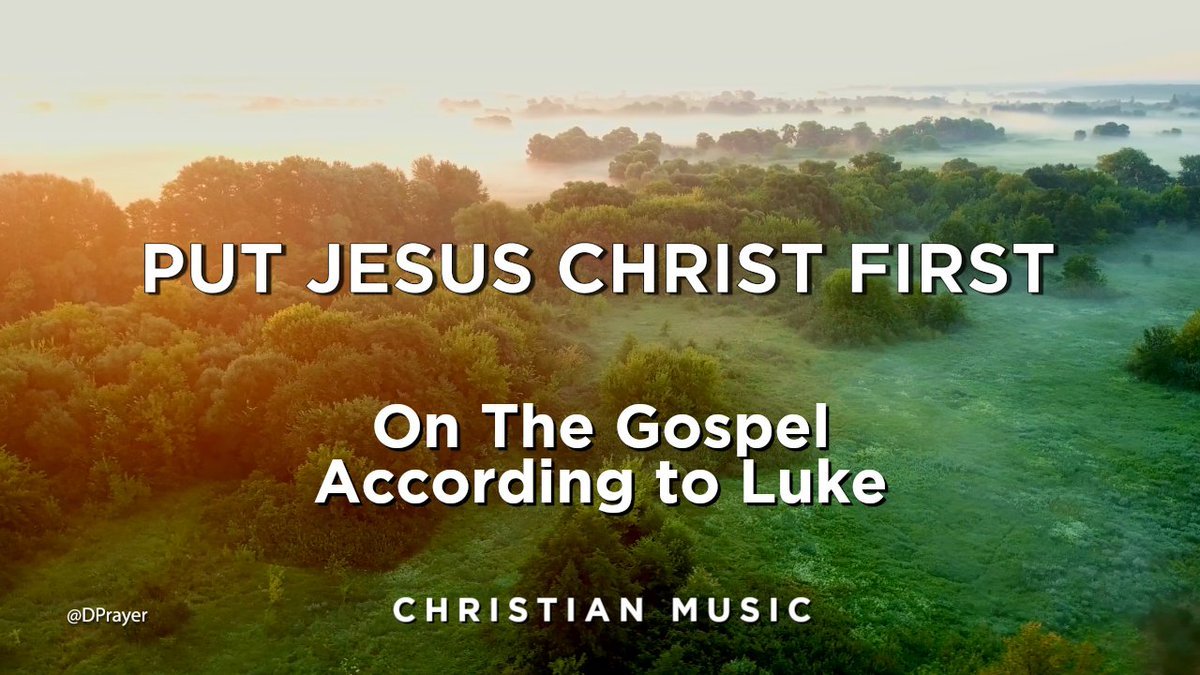 https://t.co/XiGURakWB2 @DPrayer - Put #JesusChrist First - 30 min #Christian #RelaxingMusic #PianoMusic  #ChristianMusic #MeditationMusic #music  #worship #worshipmusic #god #love #faith #newmusic #jesus #gospelartist #christianhiphop #praise #church #worshipleader #jesusmusic https://t.co/WKxChYuQsU
