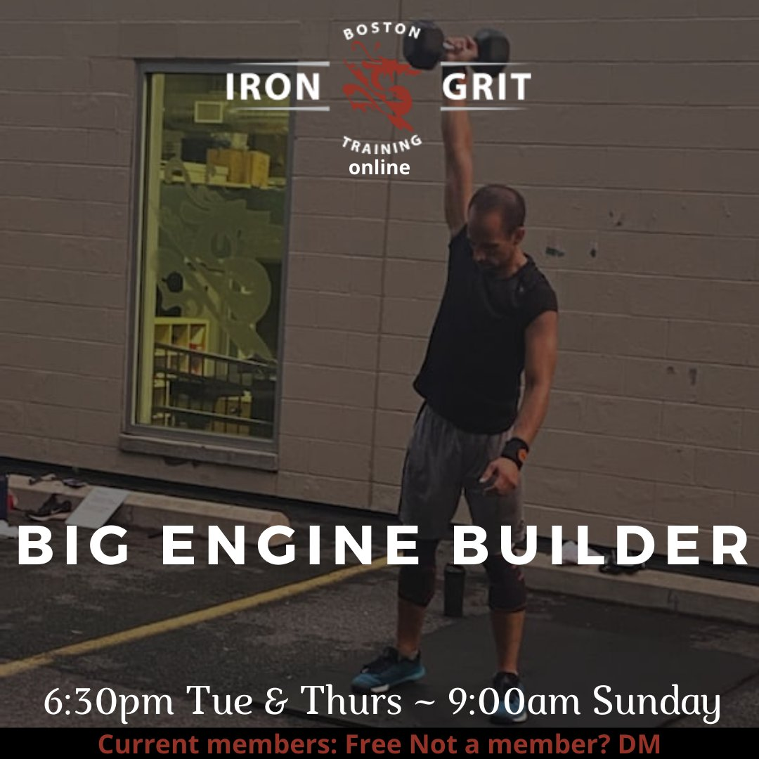 6:30pm BIG Engine ~ outside & online ~ w/ @big_coachb Current Members: Reserve your spot! Not a member? DM to learn more Link here: https://t.co/f90OpbmwDl #bigengine #triplec #3c #communityconsistencycomitted https://t.co/yOoNZifbC8