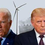Image for the Tweet beginning: Trump og Biden skændes om