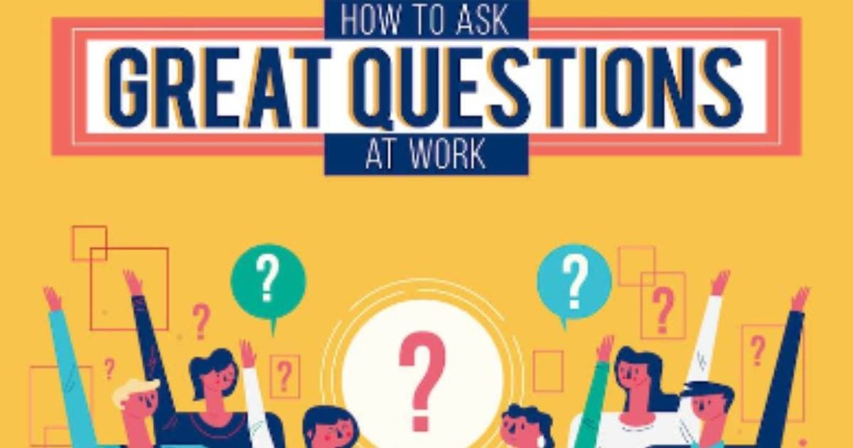 Asking the right questions at work is essential to learning information, building bonds with managers and colleagues, and getting noticed in important moments.  Read: How to Ask Great Questions at Work [Infographic] https://t.co/Jvpzaa1FAS https://t.co/wjbKe5YLCA