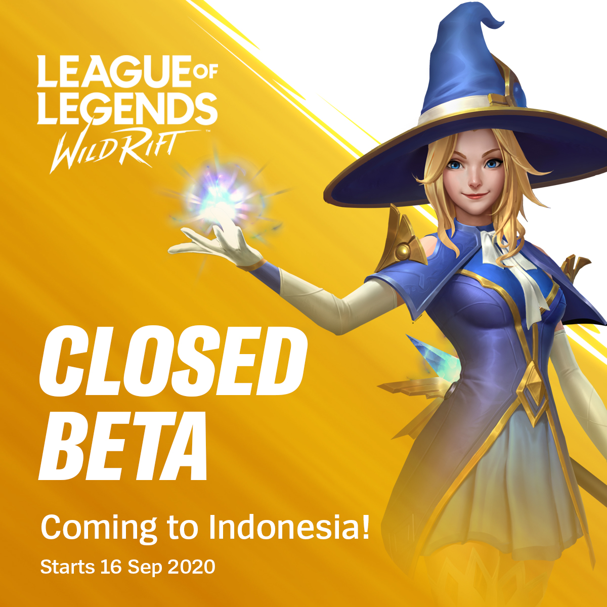 League Of Legends Wild Rift On Twitter Warm Up Your Thumbs Because Wild Rift Closed Beta Starts Today In Indonesia Android Users Can Check Our App Page On Google Play And We Ll